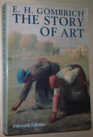英文原版书 The Story of Art  (Paperback,1989, 15th edition) by Ernst Hans Josef Gombrich (Author)