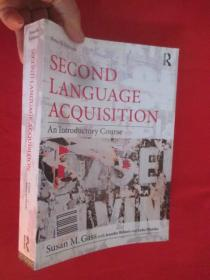 Second Language Acquisition     【详见图】