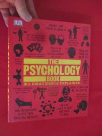 The Psychology Book: Big Ideas Simply Explained   (硬精装)    【详见图】,彩图