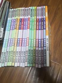 耽美季节-耽美小说月刊2006年10-12期。2008年1-4期。2009年8月号漫画月刊。2010年9-12期。2011年1-7期。共19册合售。实物图品如图。新1-1