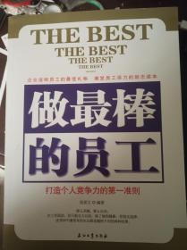 做最棒的员工:打造个人竞争力的第一准则