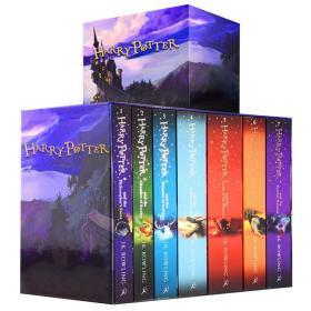 哈利波特新版全套全集7册英文版
