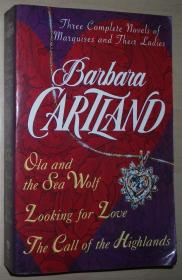 英文原版书 Barbara Cartland: Three Complete Novels: Marquises & Their Ladies , 1995