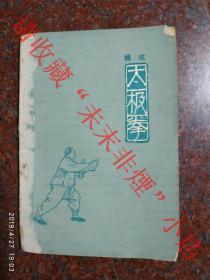 杨式太极拳 杨氏太极拳 傅钟文 1963年一版一印  75品相
