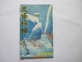 灵峰探梅  杭州植物园