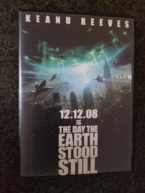 科幻经典系列:地球停转之日The Day the Earth Stood Still2008美国基努·里维斯