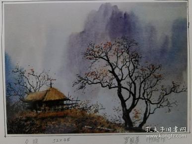 资料照片;罗国华水彩画