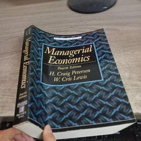 Managerial Economics Fourth Edition