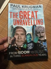 PAUL KRUGMAN THE GREAT UNRAVELLING(大32开)
