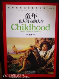 世界经典文学名著宝库:童年 在人间 我的大学【南车库】129