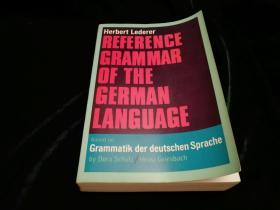Reference Grammar of The German Language