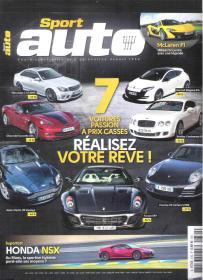  外国汽车杂志  法语汽车杂志 Sport auto 2017年11月  (图文并茂,每页精彩图片)