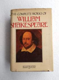 THE COMPLETE WOKS OF WILLIAM SHAKESPEARE  莎士比亚全集 精装护封