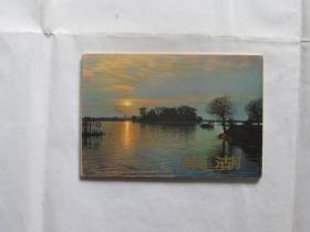 明信片:南湖(8张)1964年
