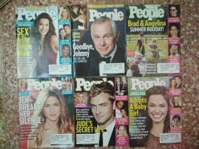 PEOPLE      (英文原版杂志,2005到2007年总共86合售)