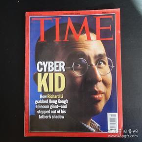 time时代杂志时代周刊2000.13