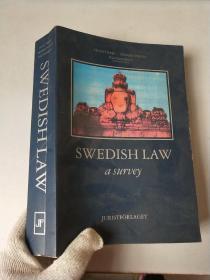 Swedish law: A survey 英文原版 现货.  内有少许划痕线