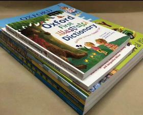 字典,齐全啦!8本组合,OXFORD First dictionary 这是一套为幼儿园到小学生所编写