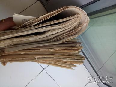 文革小报  井冈山  红卫报 烈火报  红色工人 革命造反报   共60张左右合售
