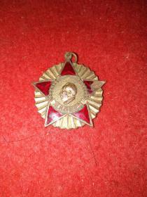 1951年毛主席像章——抗美援朝纪念,中国人民政治协商会议全国委员会 赠