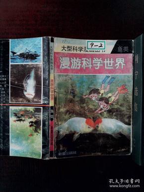 大型鱼类漫画画童v鱼类科学世界丛书漫科学少女图片