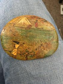 石头画(海峡两岸寄情思)