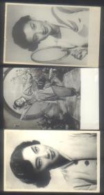 早期美女照片3枚