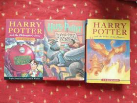 Harry Potter and the Order of the Phoenix and the philosophers stone AND THE PRISONER OF AZKABAN   3本合售 16开
