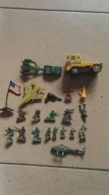 老玩具 兵仔兵团飞机