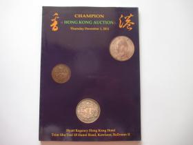 CHAMPION HONG KONG AUCTION  2011.12