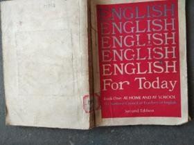 ENGLISH FOR TADAY BOOK ONE