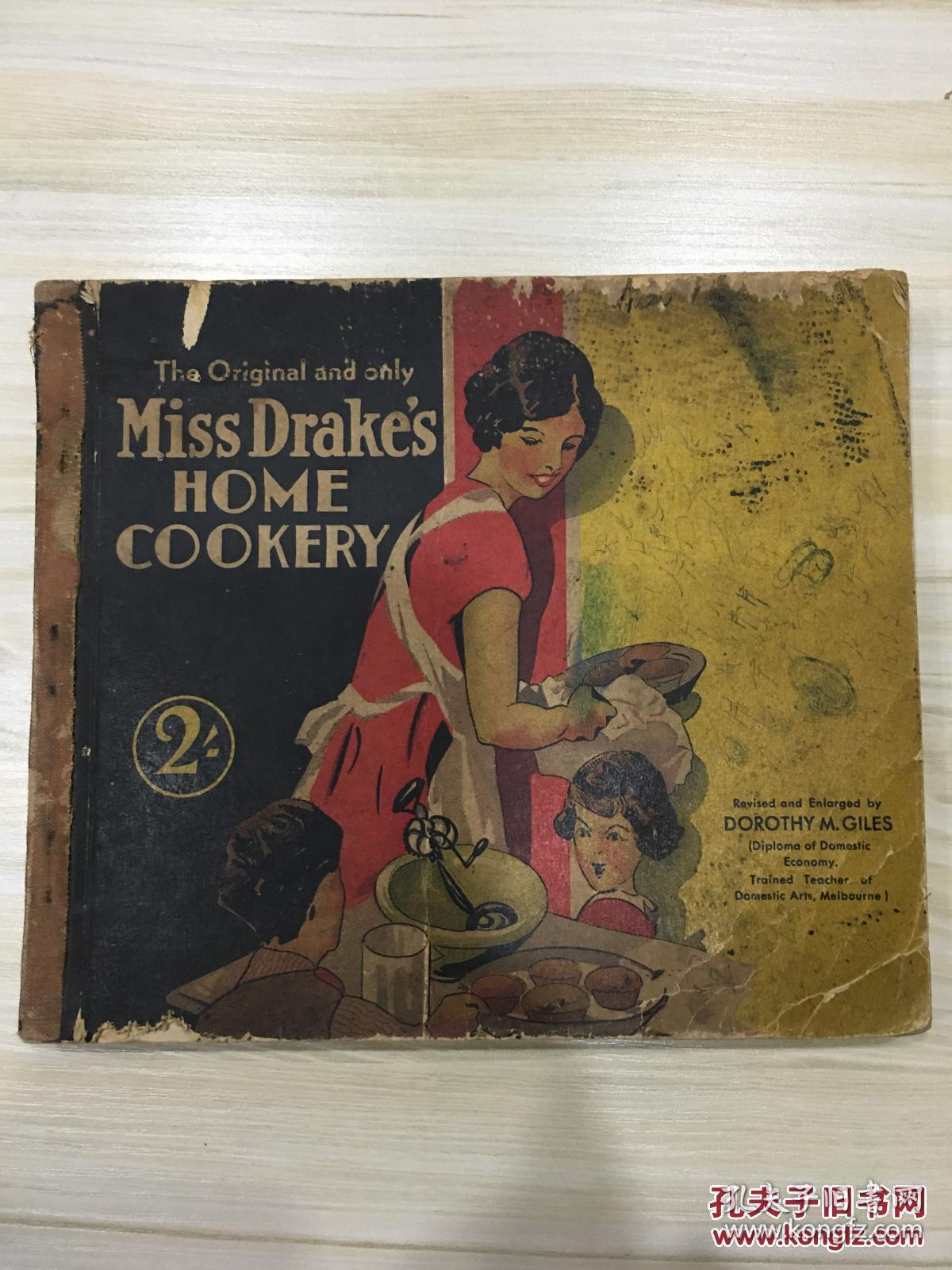 the original and only miss drake's home cookery德雷克小姐的家庭烹饪