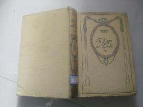 民国旧书 LA MARE AU DIABLE PAR GEORGE SAND 精装 货号R7