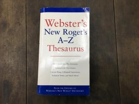 Websters New Rogets A-Z Thesaurus