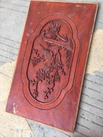《特价》精工老木雕,双面工喜鹊凳梅竹报平安