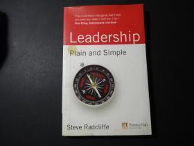 LEADERSHIP PLAIN AND SIMPLE