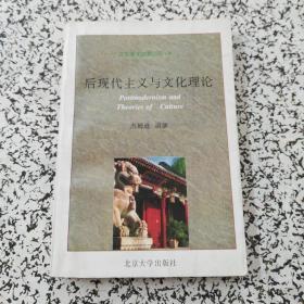 后现代主义与文化理论:北大学术讲演丛书
