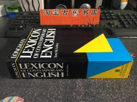 LONGMAN LEXICON OF CONTEMPORARY ENGLISH TOM MEARTHUR
