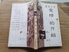 虹影丛书  民国女作家小说经典(第一辑)  沉樱小说  爱情的开始