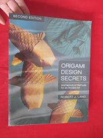 Origami Design Secrets (Second edition)     大16开,未开封