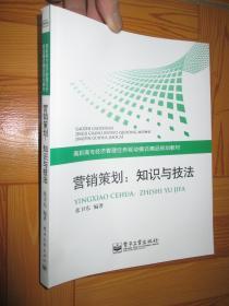 营销策划:知识与技法 (小16开)