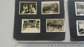 1950年代初 广州民生轮船公司职员在广州的红色活动留影14种