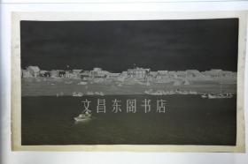 民国早期 湖北省宜昌市宜昌港 超大画幅原始高清底片