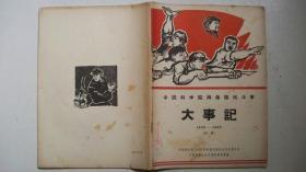 1967年5页编辑出版《大事记(1956-1966)》(初稿)