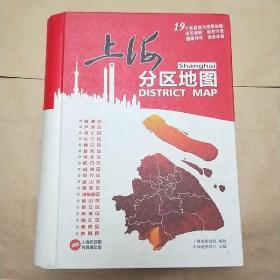 上海分区地图