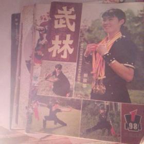 武林1984年1一12(合售)