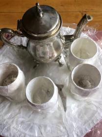 俄罗斯铜制咖啡杯