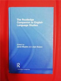 The Routledge Companion to English Language Studies (劳特利奇英语语言研究)论文集