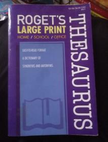 ROGET S THESAURUS