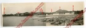 1920年代青岛,角度极独特。青岛湾礁石上拍摄德华银行至提督楼长景